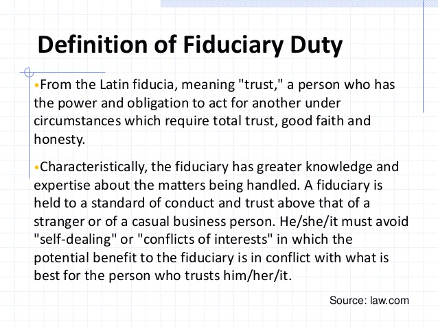 fiduciary obligation essay Fiduciary duties paper details: fiduciary duties write a short essay, between 400 and 500 words, responding to the assignment below you are expected to use the textbook and outside resources to provide accurate and substantive answers to the question.
