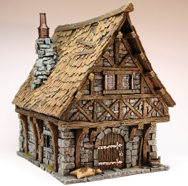 tabletop world town house 1